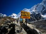 En route to Everest Base Camp